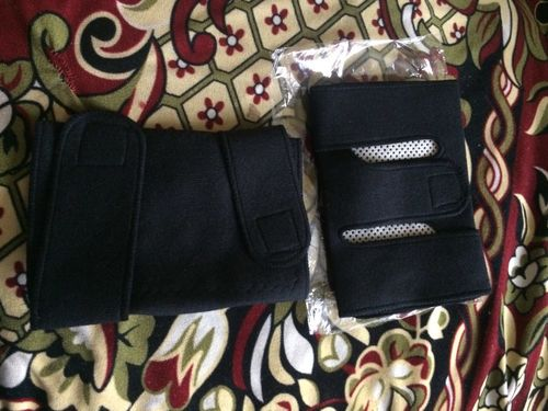 B***r review of Tourmaline Self Heating Magnetic Therapy Knee pads