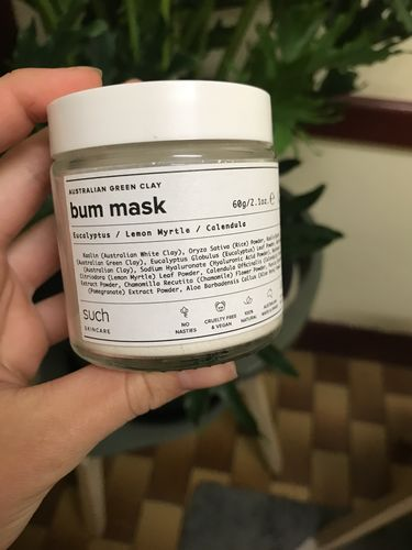 Australian Green Clay Bum Mask