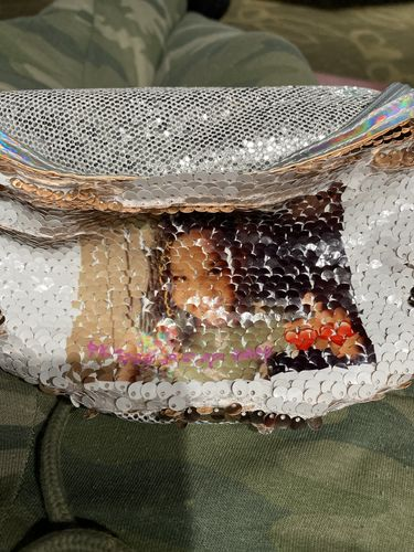 Selicia B. review of Custom Sequin Fanny Pack