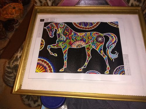 Cindy B. review of Horse - Diamond Painting Glow In The Dark