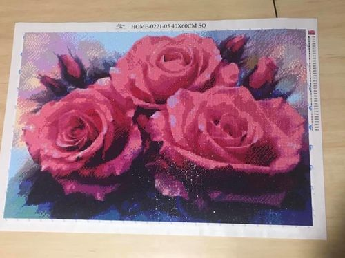 Cindy W. review of Majestic Rose - Diamond Painting Kit