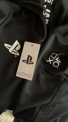 Hoodie Black Black /& White Teq Sony PlayStation