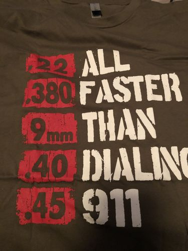 EXCLUSIVE PROMO - All Faster Than 911 Unisex Tee (Military Green Only)